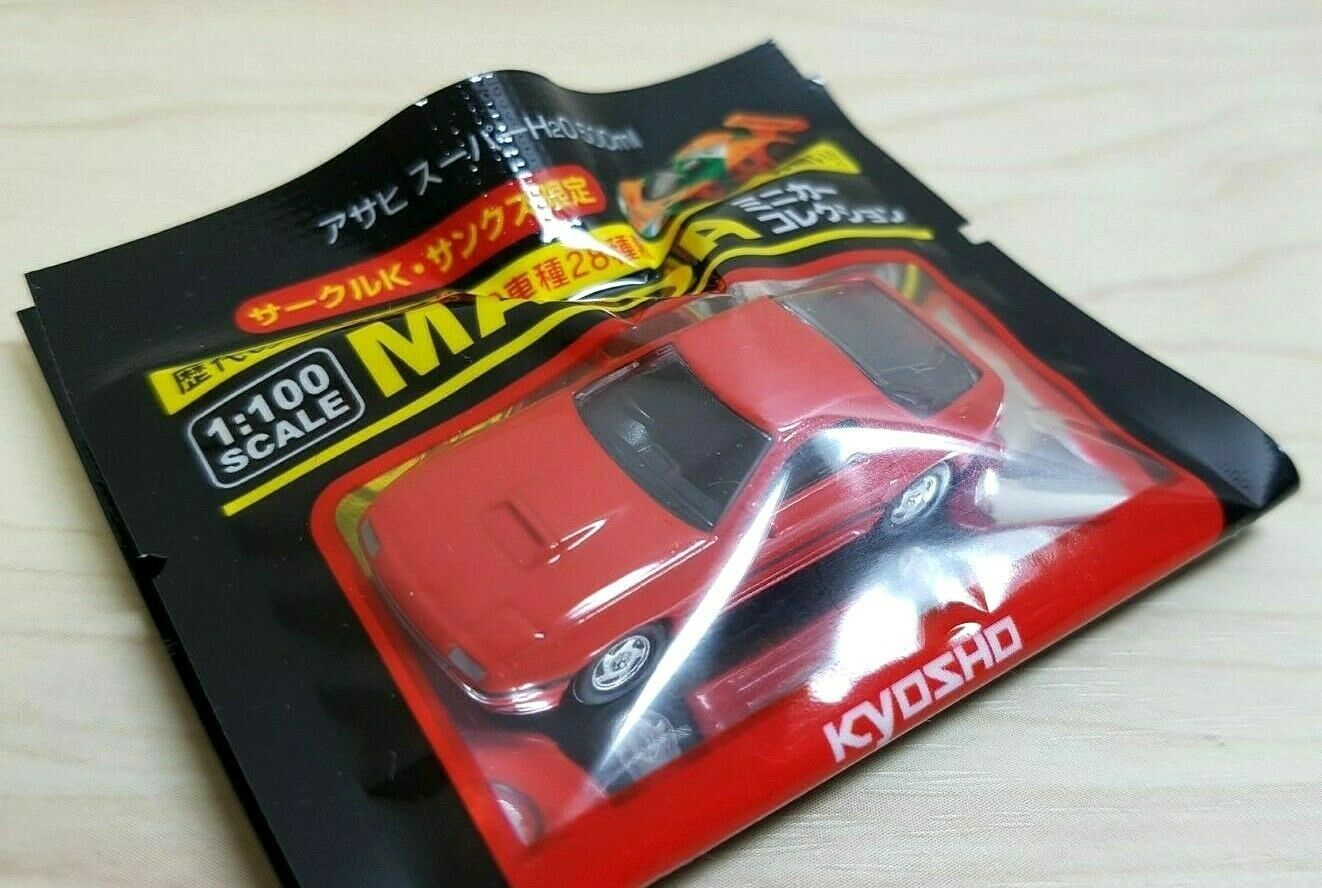 Primary image for 1/100 Kyosho MAZDA RX-7 FC3S RED diecast car model NEW