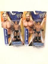 WWE Batista & Orton ActionFigures Wrestlemania Heritage Series Mattel #14,16 - $39.59