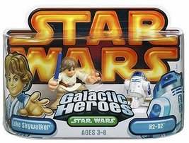 Star Wars Galactic Heroes Episode 2 Junior Figure 2 Pack Luke & R2D2 - $6.80