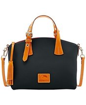 Dooney & Bourke Patterson Trina Small Satchel (Black) - $321.44