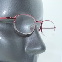 Reading Glasses Sweet Pink Metal Top Frame Bottomless +3.00 Lens Strength - $16.00
