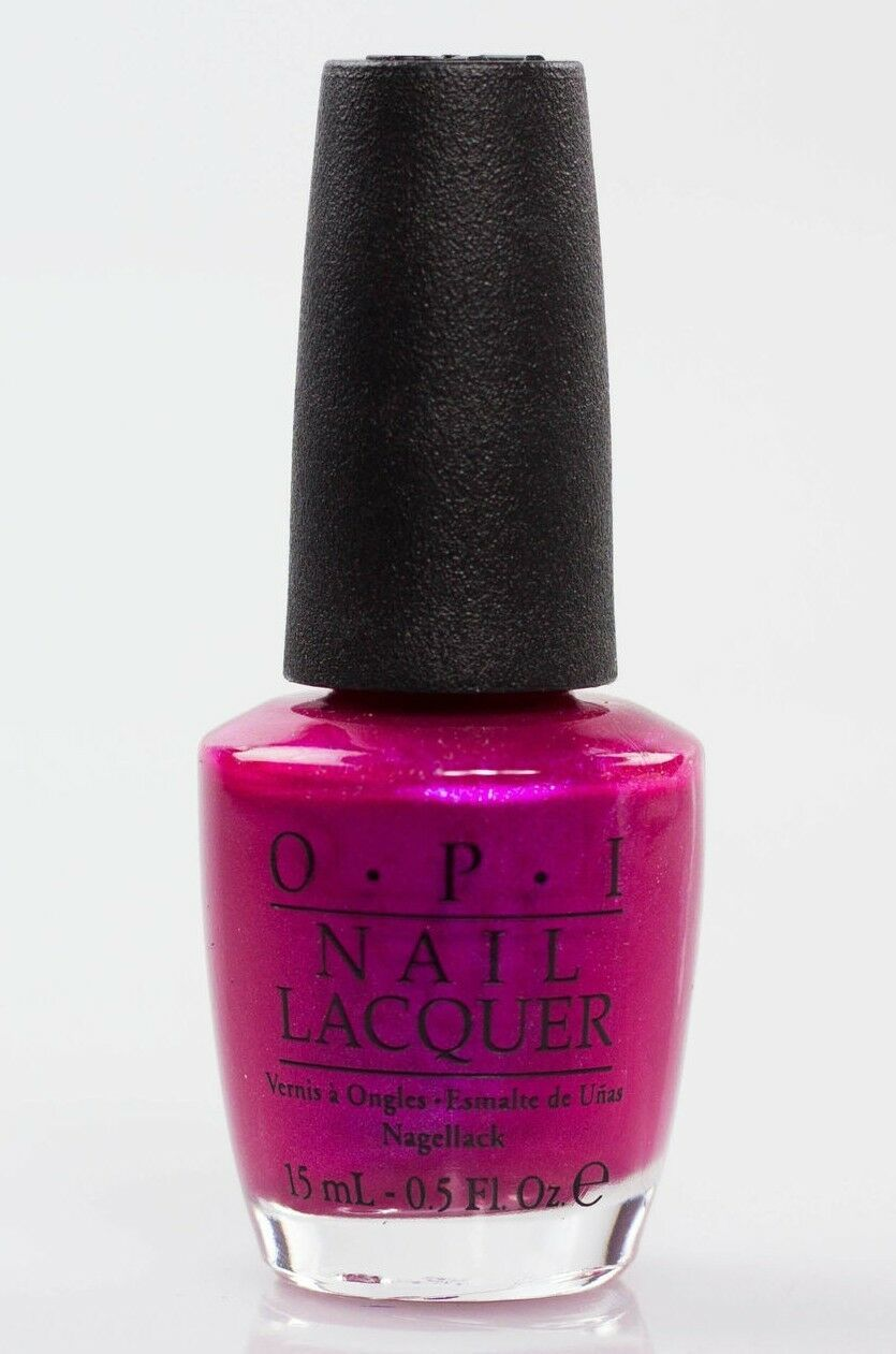 Primary image for Opi Laca de Uñas Bombillo Color Fuchscia NK B31 Nuevo Botella 239