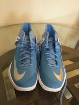 New NIKE Zoom KD TREY 5 IV Men's Size 17.5 Durant Blue Basketball 856484... - $64.34