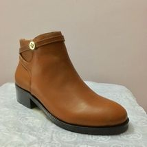 New women's girls shoes 100% leather ankle boots Size 36, 6W gift footwear - $239.00
