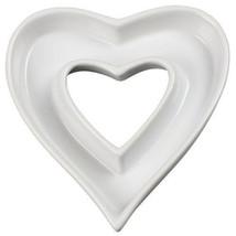 Ceramic Heart Shape Dish Plate Wedding Gifts Wedding Reception Table Dec... - $14.70