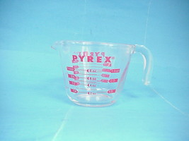 Corning Pyrex Glass 1 cup Measuring Cup - $14.84