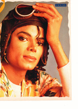 Michael Jackson Poison teen magazine pinup clipping wearing goggles Tiger Beat