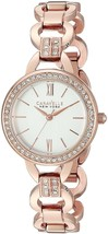 Caravelle New York Women's 44L163 Analog Display Analog Quartz Rose Gold... - $148.00