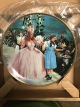 The Hamilton Collection, Wizard Of Oz Plate, A Glimpse Of The Munchkins - $23.96
