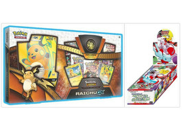 Pokemon Shining Legends Raichu GX Collection Box and Japanese SM3+ Boost... - $149.99