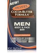 Palmers Cocoa Butter Formula with Vitamin E Men Body and Face Bar, 5.3 O... - $12.86