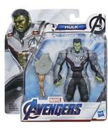 Avengers Marvel Endgame Team Suit Hulk Deluxe 6-inch Figure Hasbro - $6.92