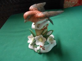 "Beautiful LENOX 2011 ""Christmas Purple Finch"" Bird Porcelain  Figurine....SALE - $32.26"