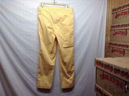 Ben Silver Charleston Mustard Yellow Cuffed Pants image 4