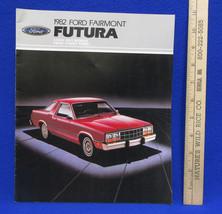 Vintage 1982 Ford Fairmont Futura Car Dealership Brochure Information Bo... - $7.91
