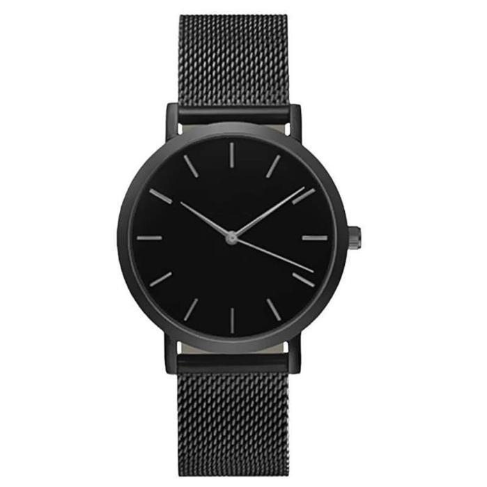 0c5335cba44 Eminino top brand men watches fashion stainless steel analog quartz wrist  watch lady luxury mesh