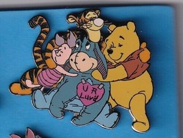 Eeyore DLR  Valentine Day 2001   Pooh & Friends Authentic Disney Pin - $49.99
