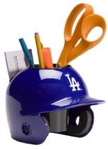 Los Angeles Dodgers MLB Baseball Schutt Mini Batting Helmet Desk Caddy - $19.95