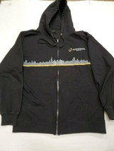 Horseshoe Casino Hammond Indiana Black Hoodie Sweatshirt Large Good Cond... - $19.79