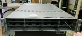 Supermicro 6026TT-HTRF 4 Nodes 2U Server 1200W x 2 PSU Bare Chassis tested - $192.84