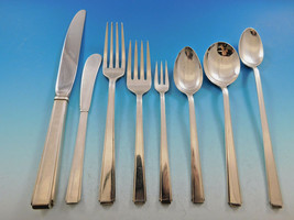Modern Classic by Lunt Sterling Silver Flatware Set for 12 Service 101 pieces - $5,995.00