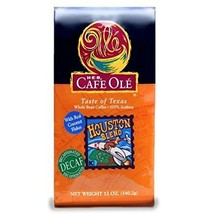 HEB Cafe Ole Houston Blend Decaf Medium Roast Whole Bean Coffee - 3 Pack - $42.56