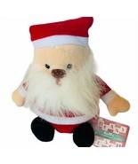 Beany Jolly Bunch Plush Russ Berrie vtg Christmas Holiday bean bag NWT t... - $19.25