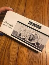 Malden International Deisgns FRIENDS Metal Stand Desk Picture Frame Ash ... - £21.09 GBP