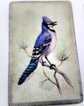 6 Blue Jay Playing Cards for Crafting, Re-purpose, Up-cycle, Vintage Supplies image 4