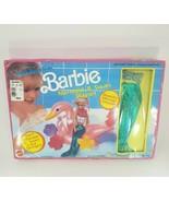VINTAGE 1990 BARBIE DOLL BATHTIME FUN MERMAID & SWAN PLAYSET # 7555 SEAL... - $55.17