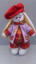 Handmade Doll Rabbit, Handmade, Rabbit Art Doll, Rabbit Decorative Doll - $50.50