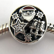 Authentic Pandora Christmas Joy, Sterling Silver w/ Enamel 796364CZ, New - $59.84