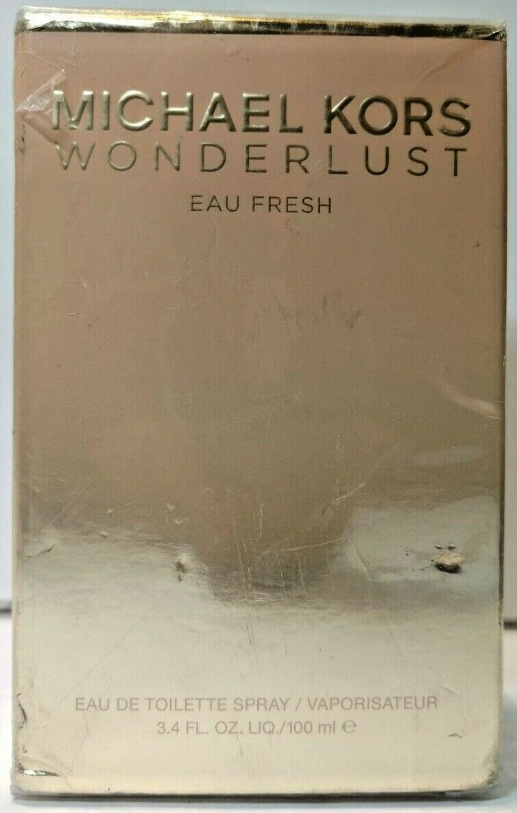 Primary image for Wonderlust Eau Fresh by Michael Kors for Women - 3.4 oz EDT Spray READ COMMENT