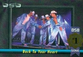 Backstreet Boys trading card (#1 Album/Song Back To Your Heart) 2000 Win... - $4.00