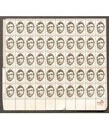 Thoreau, Sheet of 5 cent stamps, 50 stamps total - $8.50