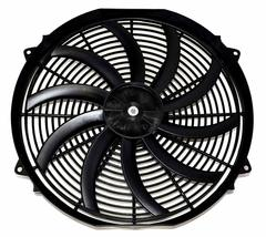 16 inch Electric Radiator Cooling Fan 12v 3000cfm Relay Thermostat Kit image 3