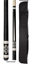 G-3398 PLAYERS LIZZARD EMBOSSED LEATHER WRAP BILLIARD POOL CUE STICK PRO... - $158.39
