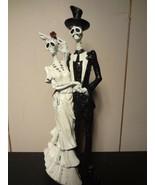 Skeleton Bride and Groom Figurine (Caketopper) - $16.35