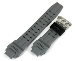 Casio 10448983 Genuine Factory Replacement Part Grey Rubber Watch Band G... - $39.95