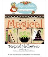 Magical Halloween cross stitch chart Sugar Stit... - $7.00