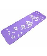 72 Inch Exclusive Premium Yoga Mat Printed Versions- Strap Extra Thick (... - £23.28 GBP