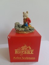Arden Figure - Rupert Bear Playing By Fish Rock Pool - R035 - Boxed - $41.90