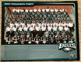 "2005 Philadelphia Eagles NFL Team Photo 8.5"" x 11"" - $5.50"