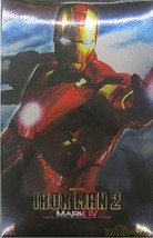 NEW 1/6 Action Figure Iron Man 2 Mark 4 HOT TOYS Tony Starak Metallic Re... - $662.38