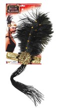 Sequin Flapper Headband With Feather Costume Fancy Dress Wear Gift For W... - $10.99