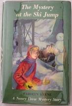 Nancy Drew Bolian Art Mystery at the Ski Jump 1960 hcdj Carolyn Keene - $25.00