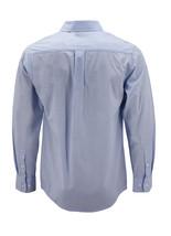 Men's Cotton Long Sleeve Classic Collared Plaid Button Up Dress Shirt - M image 2