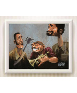 Animated characters Art oil painting printed on canvas home decor - $12.99