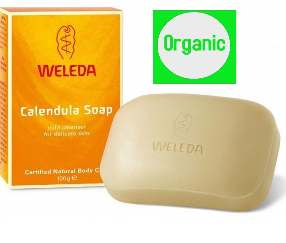 Weleda Calendula Soap 100g Organic Made In Germany