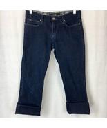 Joes Jeans Womens Socialite Kicker Crop Capri Cotton Stretch Dark Perry ... - $22.93